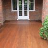 Softwood decking in Hampstead Garden Suburb.